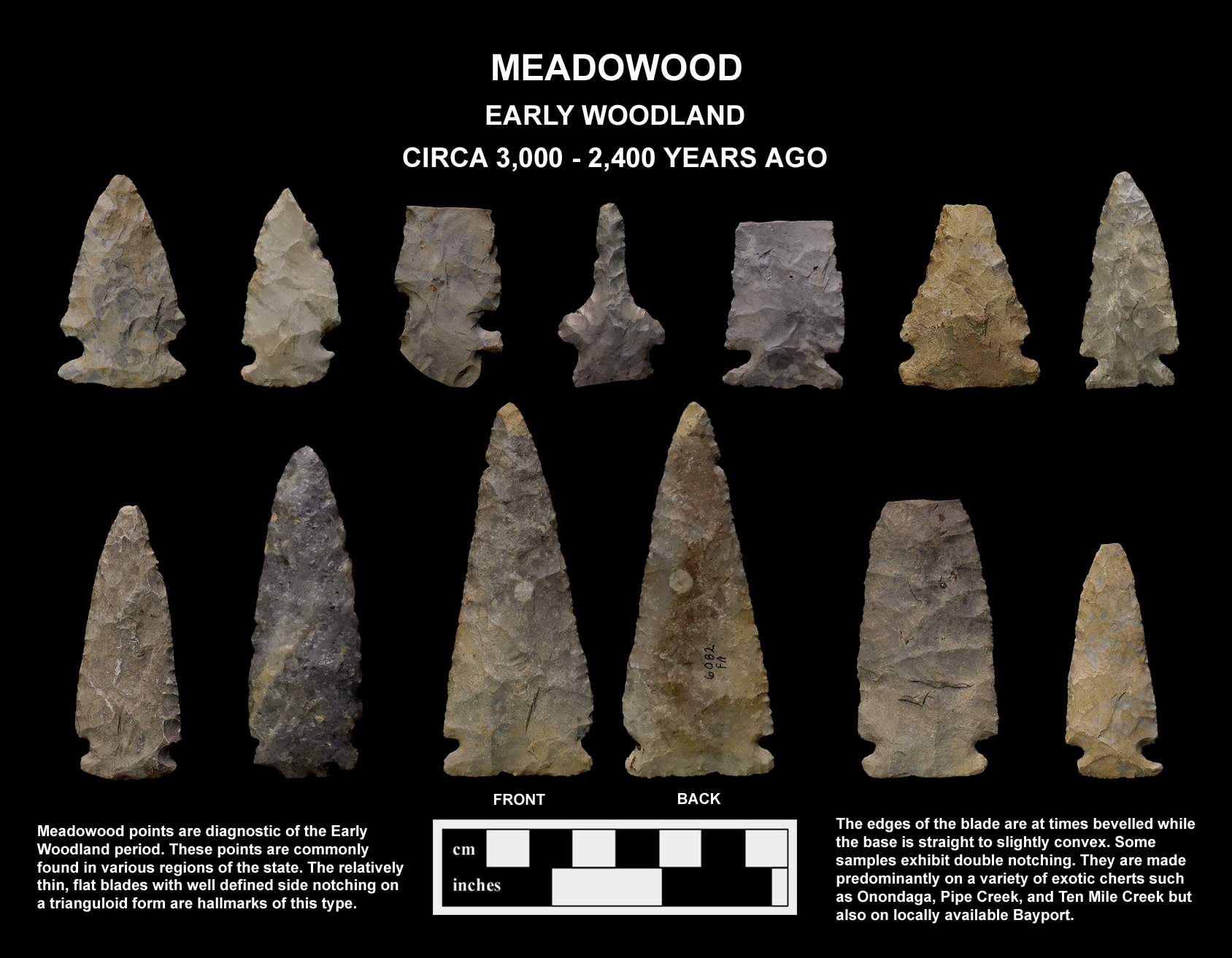 Projectile Point Typology and Dating Michigan Archaeological Society